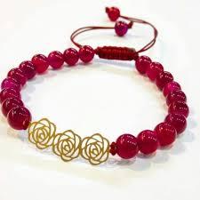 دستبند سنگ مرجان